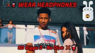 Digga D - No Diet ❌🥤 | 8D Audio 🎧