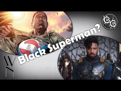 What will a black Superman look like?   What's News?