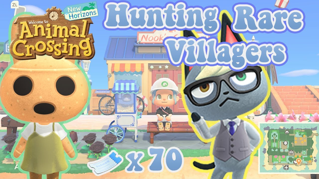 The Hunt for Rare Villagers in Animal Crossing: New ...