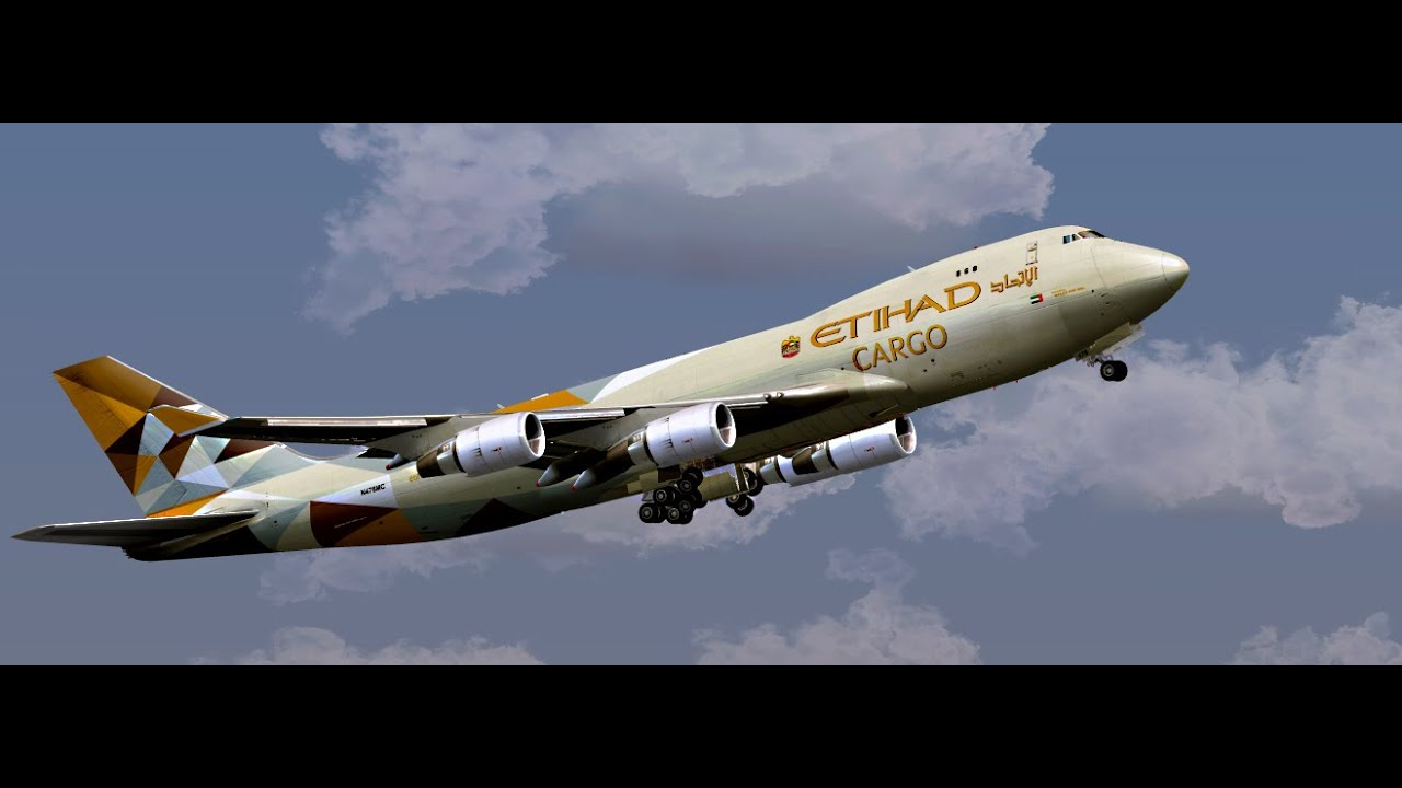 Boeing 777 Wallpaper Hd 【fsx Hd】landing At Guarulhos Int Airport Test Etihad