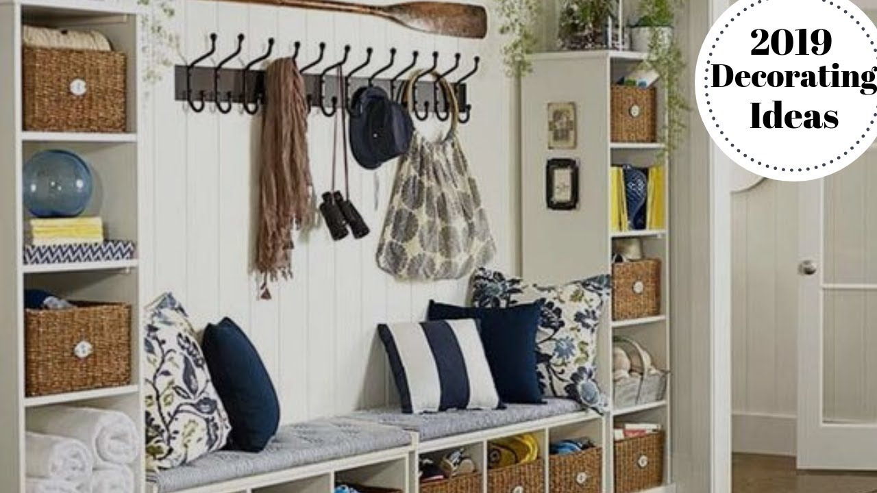 How To Decorate A Mudroom & Laundry Room