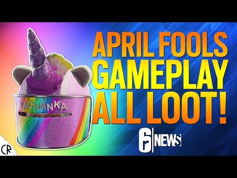 April Fools Event Gameplay & Loot 🌈 - Rainbow is Magic - 6News - Tom Clancy's Rainbow Six Siege thumbnail