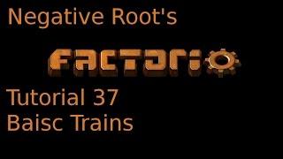 Factorio Tutorial 37 Basic Trains