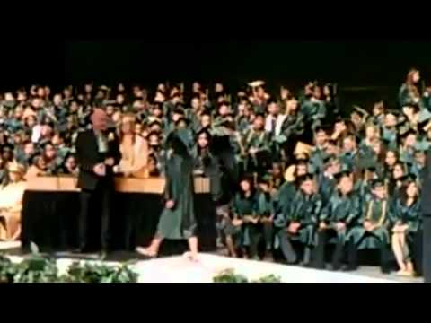 West High School Graduation Bakersfieldcalifornia Youtube