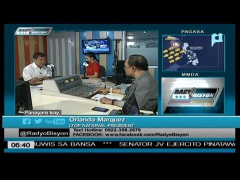 RADYOBISYON W/ LTOP PRES. LANDO MARQUEZ  (WED. AUG 24, 2016)