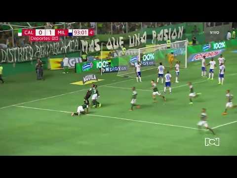 Cali 1-1 Millonarios: Gol Camilo Vargas I Deportes RCN