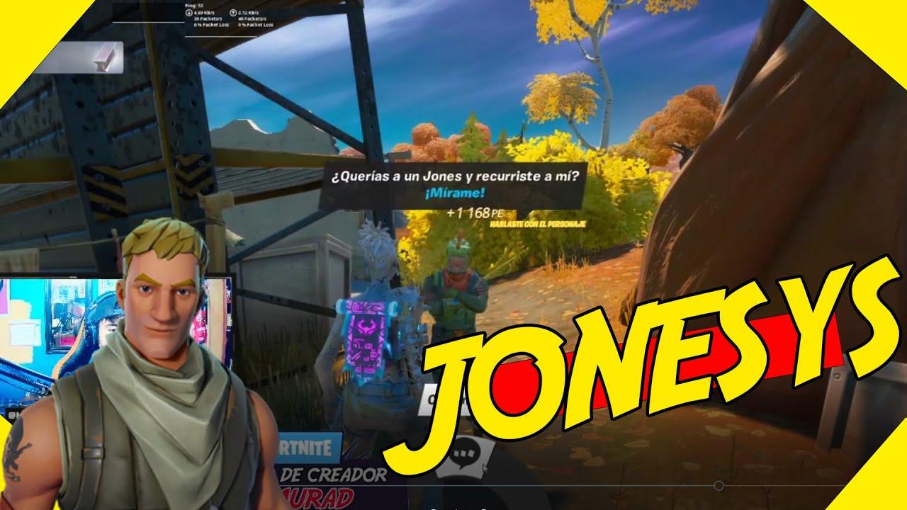 ¿DONDE estan los JONESYS? Habla con los JONESYS - FORTNITE Temporada 6