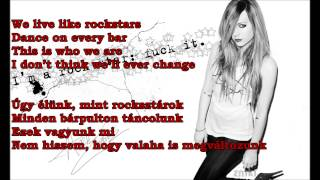 Video Avril Lavigne - Here's To Never Growing Up (HQ-HD lyrics + Hungarian translation) EXPLICIT VERSION download MP3, 3GP, MP4, WEBM, AVI, FLV Juli 2018