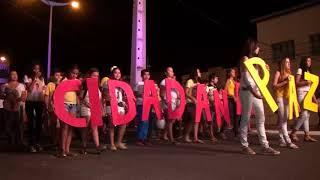 Jaguaribe  Caminhada pela Paz   José Abner pronunciamento