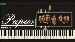 Pupus Dewa 19 Piano Tutorial