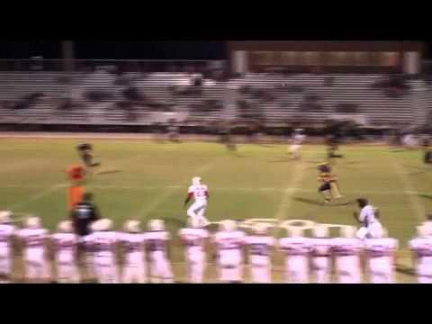 Trey Bates BJ JV Football 2010 Highlights