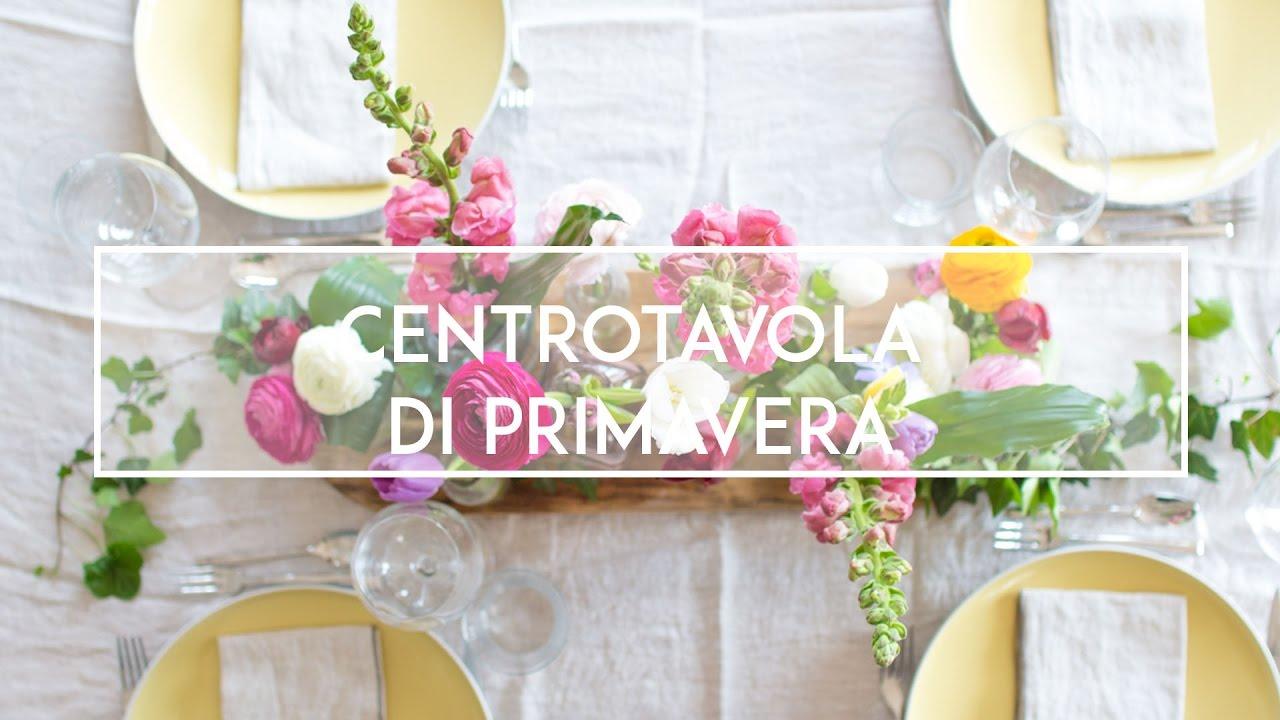Apparecchiare Tavola In Terrazza centrotavola di primavera: un'idea colorata e solare per decorare la tavola  | the bluebird kitchen
