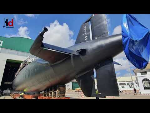 Navantia ultima la puesta a flote del submarino Galerna, tras su quinta gran carena