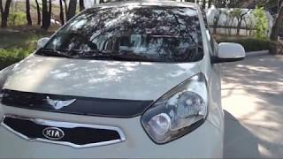 [AUTO CLOVER/오토크로바]Car exterior accessories_D990_Hood chrome trim for Kia Morning2011