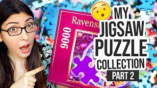 MY JIGSAW PUZZLE COLLECTION PART 2 - GIANT Over 1000 Piece Puzzles