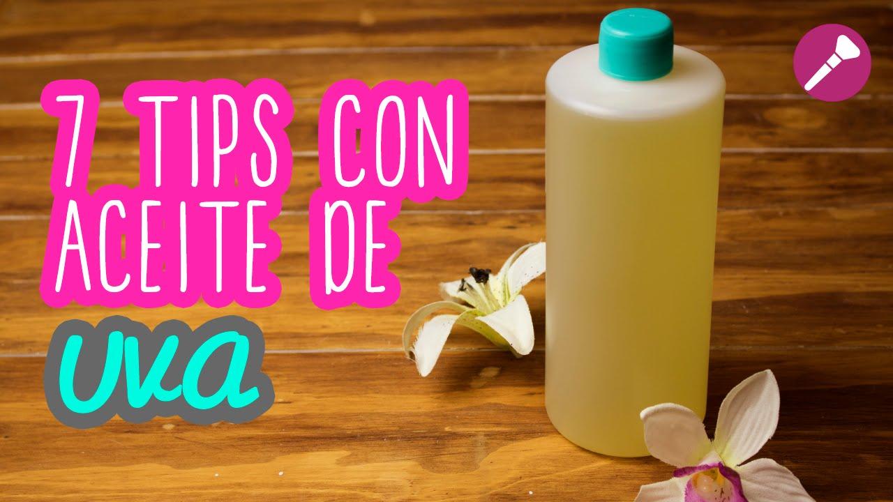 Tips De Belleza Con Aceite De Uva Para Caída Del Cabello Salud Y Piel Catwalk Youtube