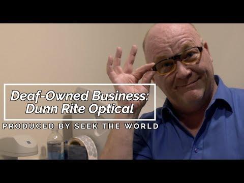 Deaf-Owned Business: Dunn Rite Optical