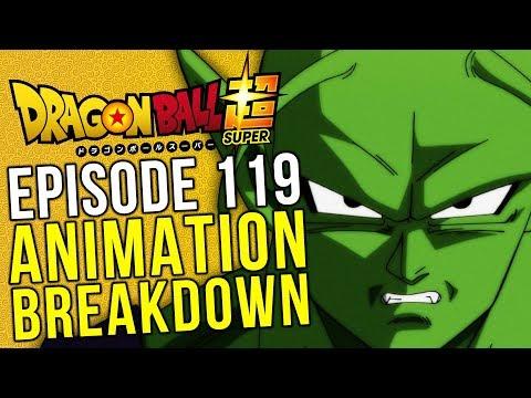 #Justice4BigGreen - Episode 119 Animation Breakdown - Dragon Ball Super