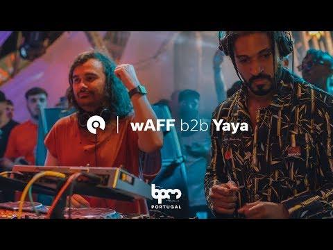 Yaya b2b wAFF @ The BPM Festival Portugal 2018 (BE-AT.TV)