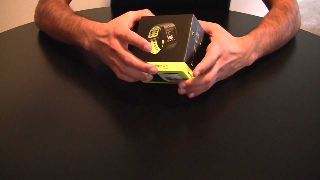 Unboxing: Nike+ Sportwatch GPS Powered by TomTom