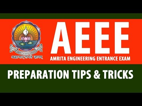 Preparation Tips and Tricks to Crack AEEE