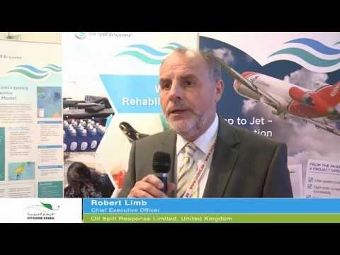 Robert Limb interview at Offshore Arabia 2014