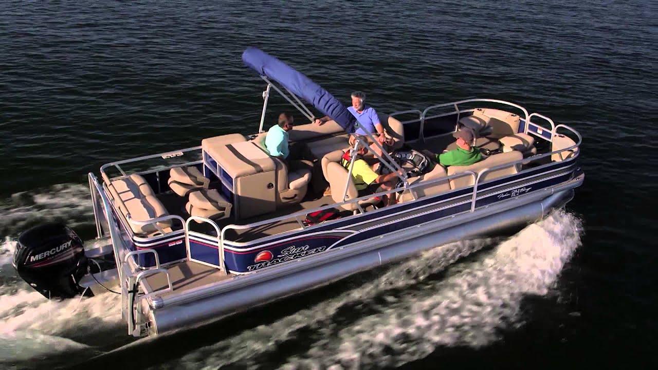 Sun Tracker Boats 2015 Fishin Barge 24 Dlx And Xp3
