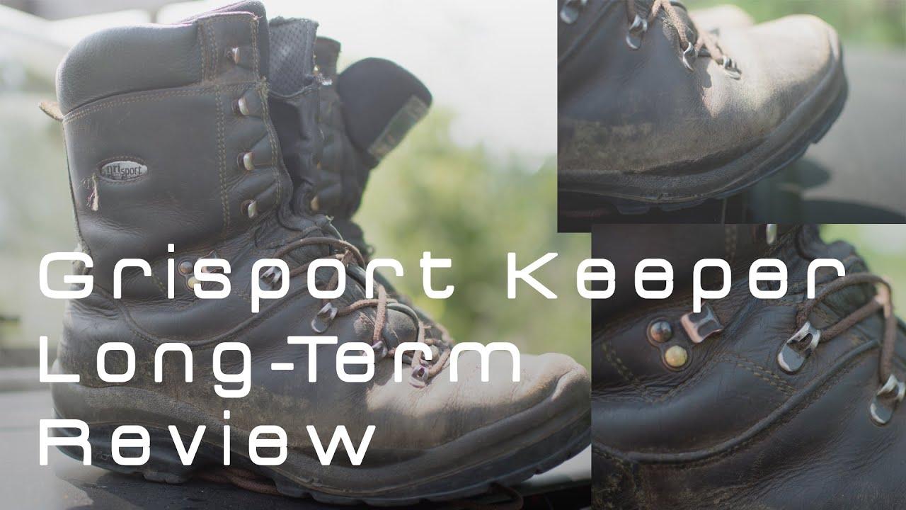 Grisport Ravine Walking Shoe - YouTube
