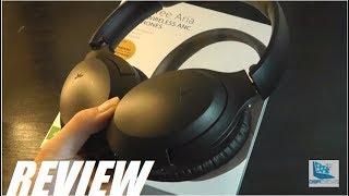 REVIEW: Avantree Aria Bluetooth Active Noise Cancelling Headphones