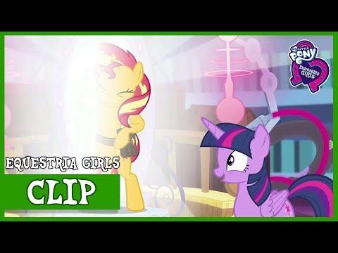 Princess Twilight remembers Sunset / Sunset's Return To Equestria | MLP: EG | Forgotten Friendship