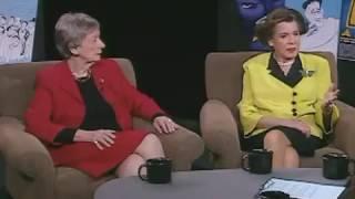 Kitty Carlisle Hart and Anne Kaufman Schneider