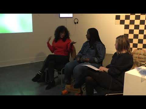 "Yetunde Olagbaju , Sofía Córdova, & Kara Q. Smith : ""Somatic  Significations"" Artist Talk  Part 1"