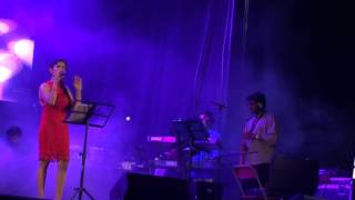 Lesa  Lesa by Anuradha Sriram  live @ CMR Starfest  Canada  with Shianaz Orchestra