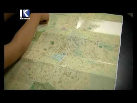 Harta turistike e Prishtinës / Tourist Map of Prishtina @ TV KlanKosova.avi