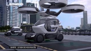 Salon de Genève : le supercar ZeroUno et la voiture volante !