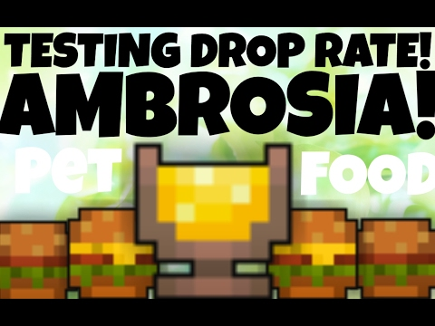 100 TRIES! TESTING AMBROSIA DROP RATES FROM SPECTACULAR AMBROSIA BOX!