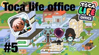 Toca life office | secret costumes!?! #5
