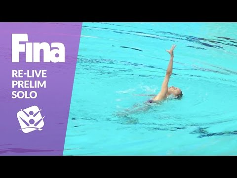 Re-Live - Preliminary Solo - FINA World Junior Synchronised Swimming Championships 2016