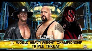 Download Video WWE-2K16 -Undertaker vs Big Show vs Kane :WWE World Heavyweight Championship Match 2016 MP3 3GP MP4