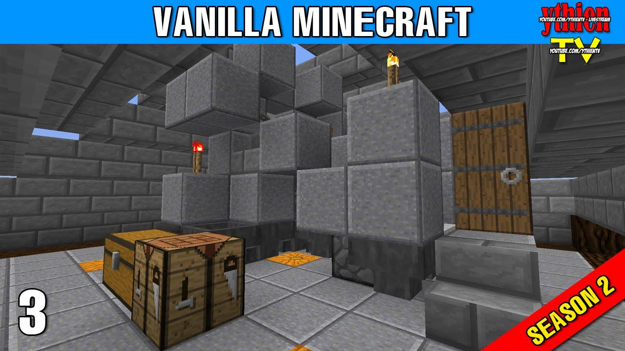 Vanilla Minecraft S12E12 - AFK Fish Farm by ythienTV