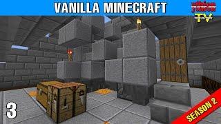 vanilla minecraft s2e03 afk fish farm