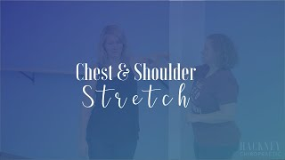 Chest and Shoulder Stretch | Hackney Chiropractic | Edmond, OK