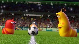 LARVA - THE LARVA WORLD CUP SONG | 2018 Cartoon | Videos For Kids | WildBrain Cartoons