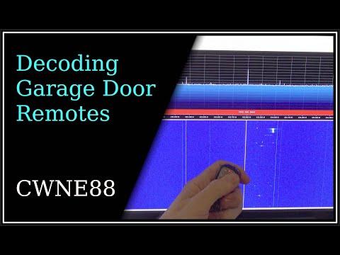 Decoding Garage Door Remote Controls
