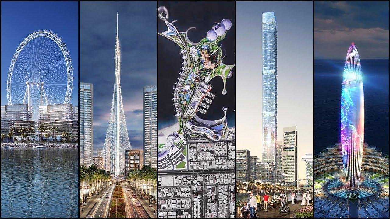 5 مشاريع في دبي الكبرى يجري بناؤها الآن