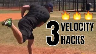 3 Throwing Velocity Hacks To Throw Harder (QUICKLY!)
