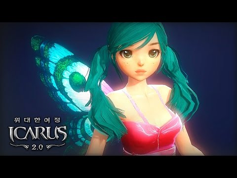 Icarus Online (Free MMORPG): Idol Character Creation New Race Class (F2P Korea)