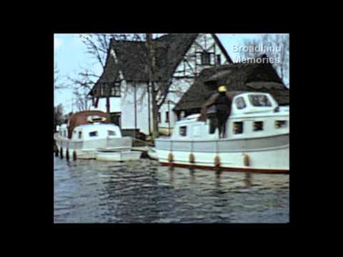 Norfolk Broads 1962 family holiday
