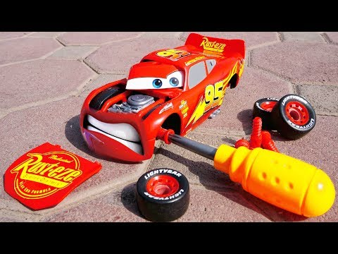 Lightning McQueen Cars 3 and Football w/ Fun Play Baby Songs Nursery Rhymes for Children