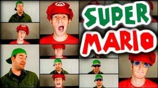 SUPER MARIO BROS - A CAPPELLA MEDLEY - Julien Neel & Nick McKaig